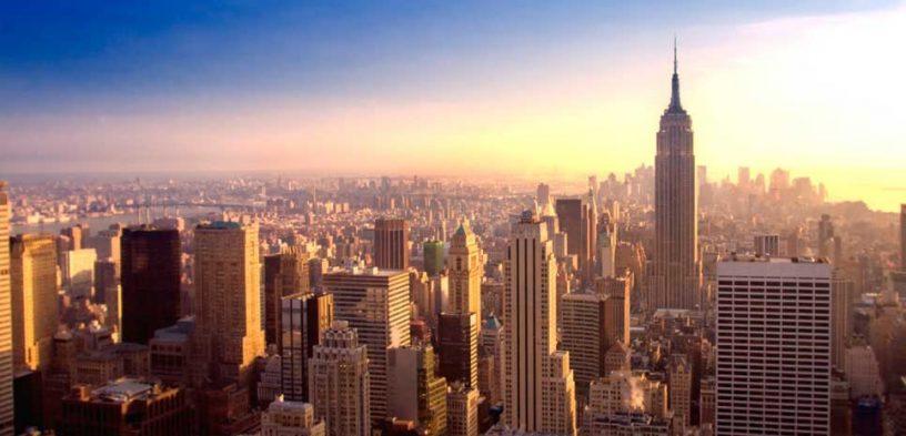 Enviar un paquete a Nueva York